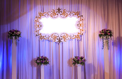 Wedding Stage Royalty Free Stock Photos