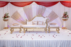 Wedding stage royalty free stock images