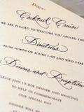 Wedding stationär Stockfoto
