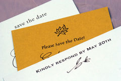 Wedding Stationary Stock Image