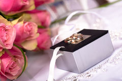 Wedding still life Royalty Free Stock Images