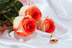 Wedding still-life Royalty Free Stock Photography