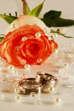 Wedding still-life Stock Image