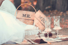 Wedding still life Royalty Free Stock Image