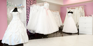 Wedding store panorama Royalty Free Stock Image