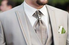 Wedding suit Stock Photo