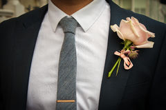 Wedding suit Royalty Free Stock Photo