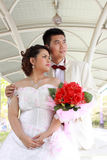 Wedding suit of couple Royalty Free Stock Photography