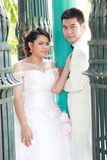 Wedding suit of couple Royalty Free Stock Images