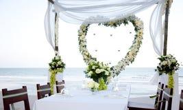 Wedding sulla spiaggia Immagini Stock Libere da Diritti