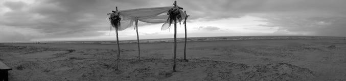 Wedding sur la plage Photographie stock libre de droits