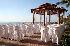 Wedding sur la plage image stock