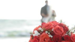 Wedding sur la plage banque de vidéos