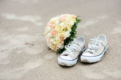 Wedding sur une plage Image stock