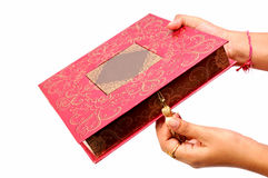 Wedding sweet box Royalty Free Stock Image