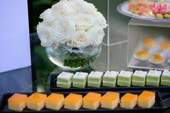 Wedding sweets bar Royalty Free Stock Photo