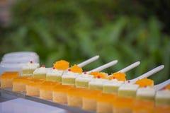Wedding sweets bar Stock Image