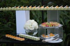 Wedding sweets bar Royalty Free Stock Image
