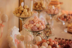 Wedding sweets Stock Photos