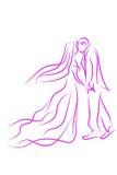 Wedding symbol Royalty Free Stock Images