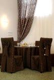Wedding table Royalty Free Stock Photos
