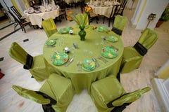 Wedding table Stock Photography