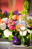 Wedding table. Royalty Free Stock Photography