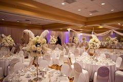 Wedding Table Stock Image