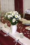Wedding table. In a restaurant Royalty Free Stock Photography