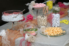 Wedding table. A photo of Wedding table Royalty Free Stock Photography