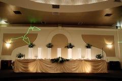 Wedding table Royalty Free Stock Image