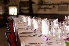Wedding_table_1 Royalty Free Stock Photos