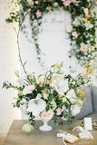 Wedding Table Centerpieces. Stock Images