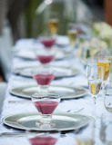 Wedding table decor Royalty Free Stock Photography