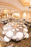 Wedding table decor Royalty Free Stock Image