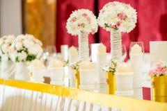 Wedding Table Decoration Stock Image