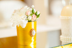 Wedding Table Decoration Royalty Free Stock Photography