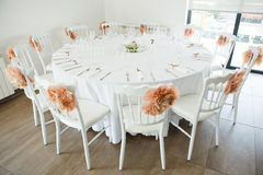 Wedding Table Decoration Stock Photography