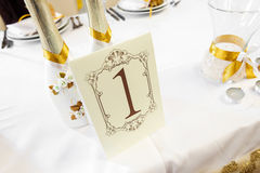 Wedding Table Decoration - Series Stock Photography