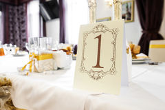 Wedding Table Decoration - Series Stock Image