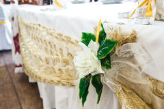 Wedding Table Decoration. Series. no people royalty free stock image