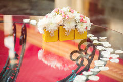 Wedding Table Decoration Stock Photography