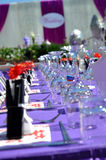 Wedding Table Detail Royalty Free Stock Photo