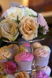 Wedding table display Royalty Free Stock Images