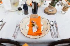 Wedding table Royalty Free Stock Photo