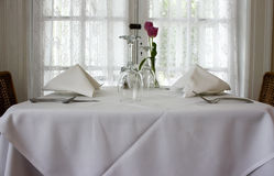 Wedding table setting  Stock Photos