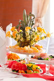 Wedding table setting Royalty Free Stock Image