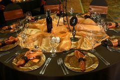Free Wedding Table Setting Royalty Free Stock Photos - 9179078