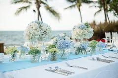 Wedding table Setup Stock Photography