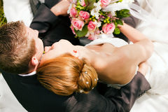 Wedding - tenderness Stock Image